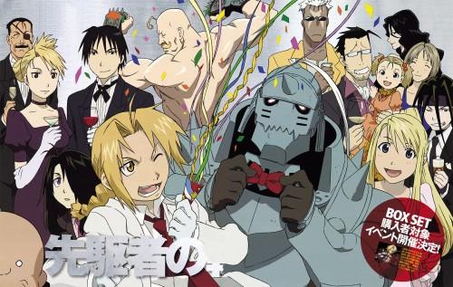 Hiromu Arakawa, BONES, Fullmetal Alchemist, Roy Mustang, Elysia Hughes