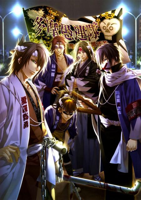 Yone Kazuki, Idea Factory, Hakuouki Shinsengumi Kitan, Toshizou Hijikata (Hakuouki), Heisuke Toudou (Hakuouki)