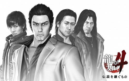 Ryu ga Gotoku, Shun Akiyama, Masayoshi Tanimura, Kiryu Kazuma, Taiga Saejima