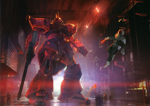 Mobile Suit Gundam 0080, Gundam Perfect Files, Johnny Ridden