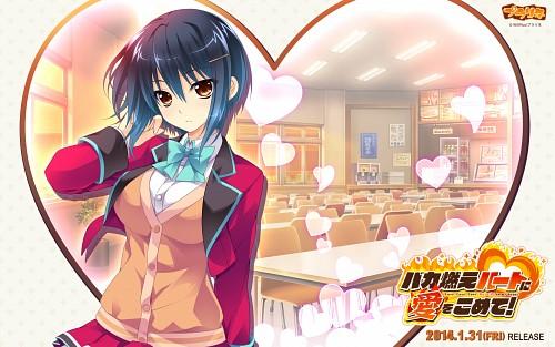 Riv, Praline, Baka Moe Heart ni Ai wo Komete!, Ai Kaneshiro, Official Wallpaper