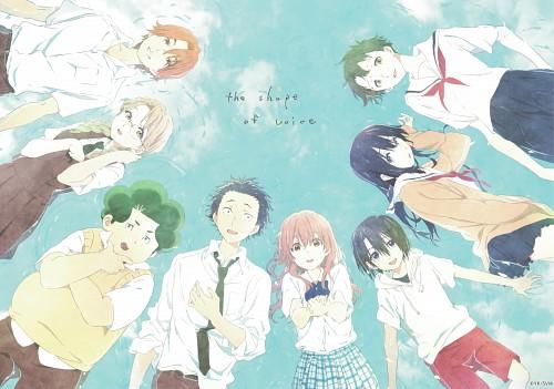 Yoshitoki Ooima, Kyoto Animation, Koe no Katachi, Yuzuru Nishimiya, Satoshi Mashiba