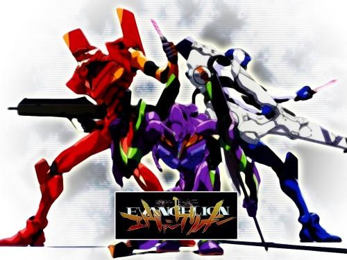 Yoshiyuki Sadamoto, Neon Genesis Evangelion, Unit-00, Unit-01, Unit-02 Wallpaper