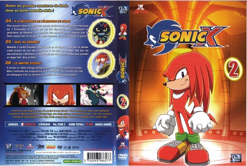 TMS Entertainment, Sega, Sonic the Hedgehog, Doctor Ivo Robotnik, Knuckles the Echidna