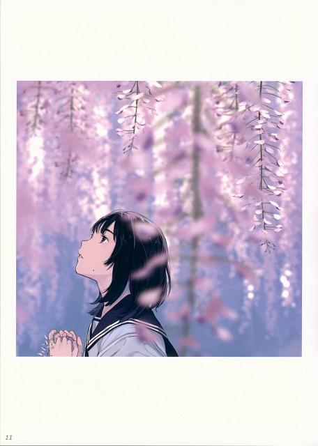 Ouchi Kaeru, Chinmoku No Tsugi Ni Utsukushii Uso #01, Artbook Cover