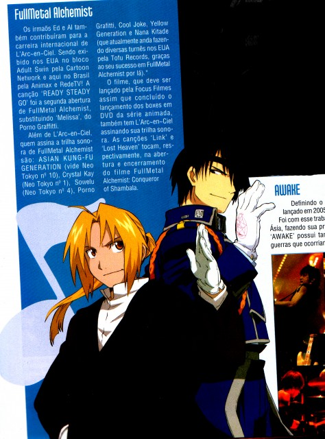 Hiromu Arakawa, BONES, Fullmetal Alchemist, Edward Elric, Roy Mustang