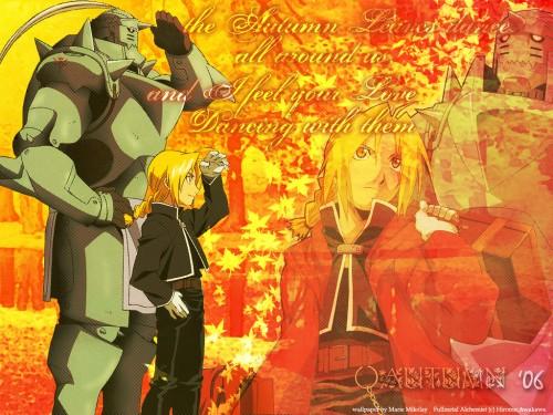 Hiromu Arakawa, BONES, Fullmetal Alchemist, Edward Elric, Alphonse Elric Wallpaper