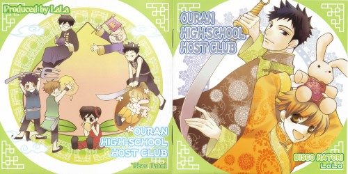 Hatori Bisco, BONES, Ouran High School Host Club, Kyoya Ootori, Tamaki Suoh