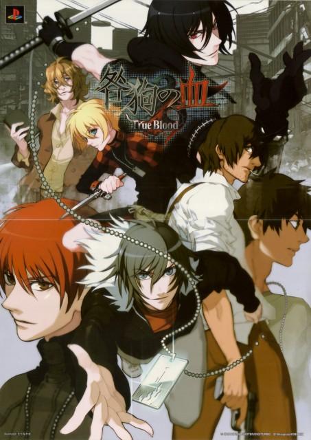 Nitro+, A-1 Pictures, Togainu no Chi, Rin (Togainu no Chi), Yukihito