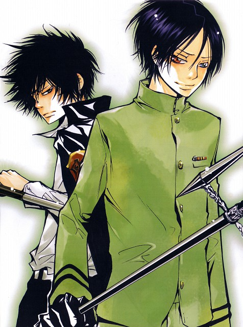 Akira Amano, Katekyo Hitman Reborn!, Kyoya Hibari, Mukuro Rokudo