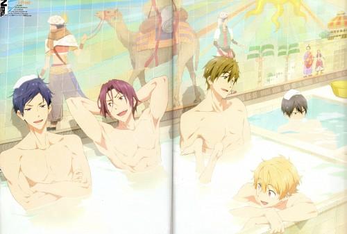 Nobuaki Maruki, Kyoto Animation, Free!, Haruka Nanase (Free!), Rin Matsuoka
