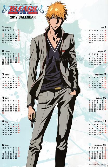 Studio Pierrot, Bleach, Ichigo Kurosaki, Calendar