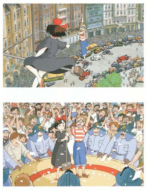 Hayao Miyazaki, Studio Ghibli, Kiki's Delivery Service, The Art of Kiki's Delivery Service, Tombo Koppoli