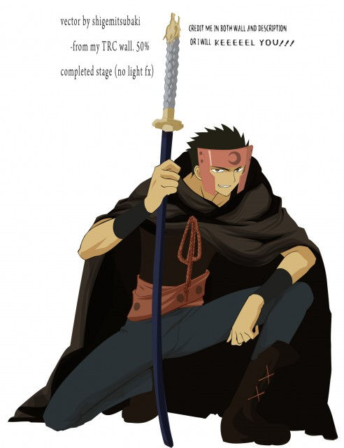 CLAMP, Tsubasa Reservoir Chronicle, Kurogane, Vector Art