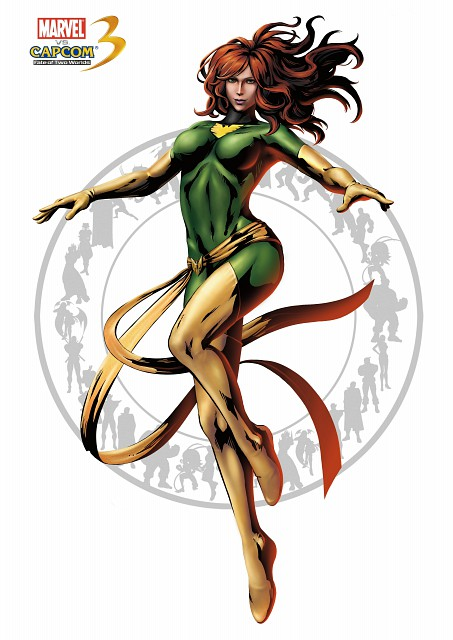 Marvel, Capcom, Marvel vs Capcom 3, Jean Grey