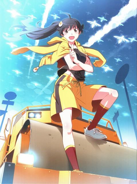 Akio Watanabe, Shaft (Studio), Bakemonogatari, Karen Araragi, DVD Cover