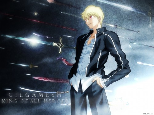 TYPE-MOON, Fate/stay night, Gilgamesh (Fate/stay night) Wallpaper