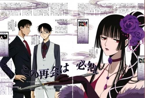 CLAMP, Production I.G, xxxHOLiC, Yuuko Ichihara, Shizuka Doumeki