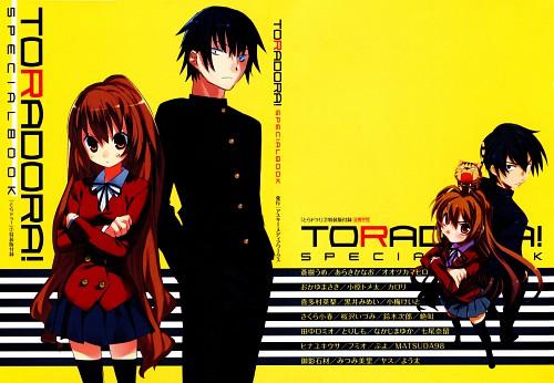 J.C. Staff, Toradora!, Ryuuji Takasu, Taiga Aisaka