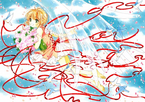 CLAMP, Cardcaptor Sakura, Cardcaptor Sakura Illustrations Collection 3, Sakura Kinomoto