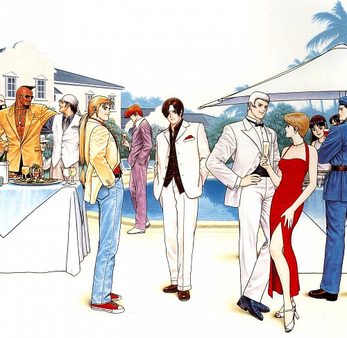 Masami Obari, SNK, King of Fighters, Yashiro Nanakase, Iori Yagami