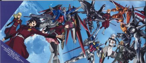 Sunrise (Studio), Mobile Suit Gundam SEED Destiny, Yzak Joule, Rey Za Burrel, Heine Westenfluss