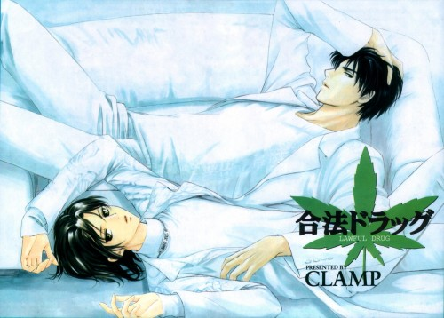 CLAMP, Legal Drug, Kazahaya Kudou, Rikuo Himura