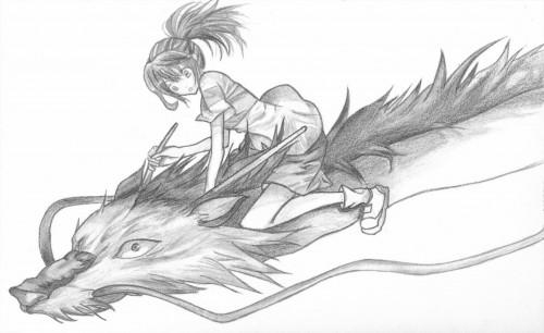 Hayao Miyazaki, Studio Ghibli, Studio Hibari, Spirited Away, Chihiro Ogino