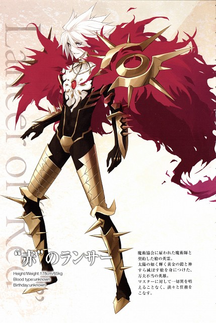 Ototsugu Konoe, TYPE-MOON, Fate/Apocrypha, Karna (Fate/Apocrypha), Occupations