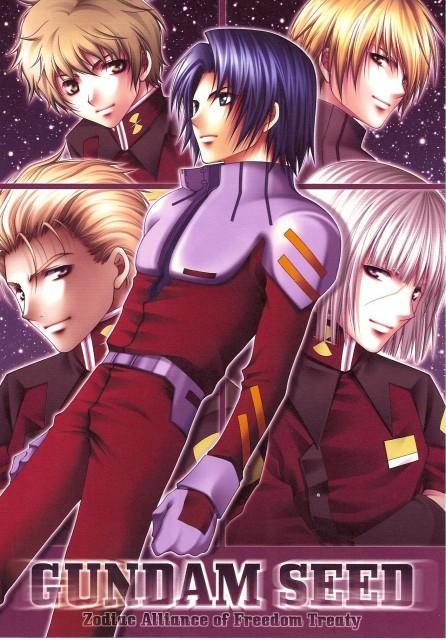 Aiki Ren, Mobile Suit Gundam SEED, Rusty  Mackenzie, Dearka Elthman, Nicol Amalfi
