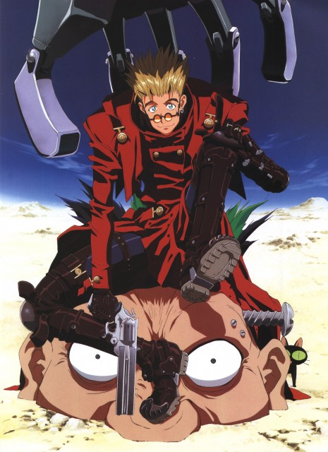 Yasuhiro Nightow, Madhouse, Trigun, The Collected Paintings Mini Book of Trigun Maximum, Vash the Stampede