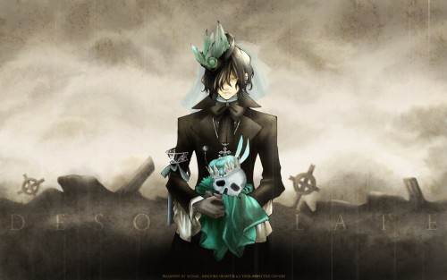 Jun Mochizuki, Pandora Hearts, Gilbert Nightray Wallpaper