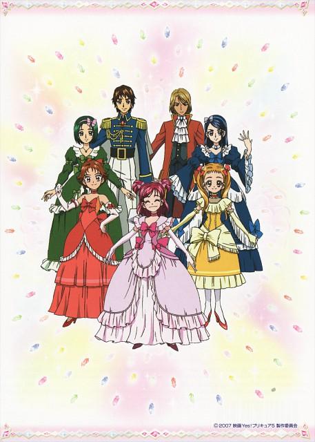 Toei Animation, Yes! Precure 5, Rin Natsuki, Komachi Akimoto, Karen Minazuki
