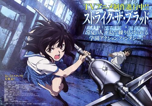 Keiichi Sano, Strike the Blood, Kojou Akatsuki, Yukina Himeragi, Magazine Page