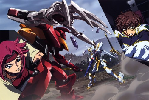 Takahiro Kimura, Sunrise (Studio), Lelouch of the Rebellion, Code Geass Ilustrations Rebels, Kallen Stadtfeld