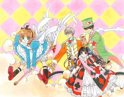 CLAMP, Madhouse, Cardcaptor Sakura, Cardcaptor Sakura Illustrations Collection 1, Yukito Tsukishiro