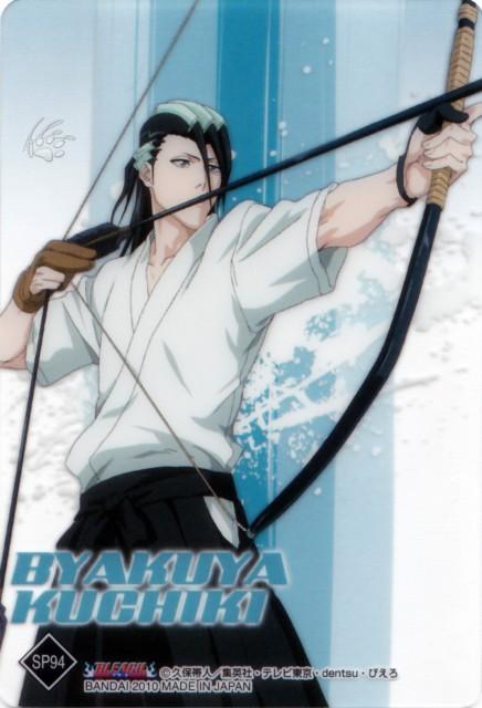 Studio Pierrot, Bleach, Byakuya Kuchiki, Trading Cards