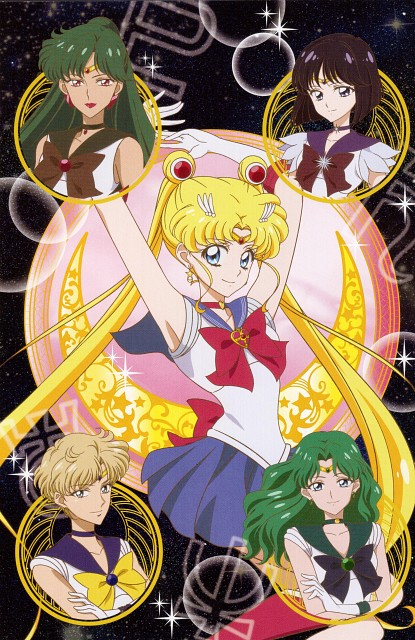 Toei Animation, Bishoujo Senshi Sailor Moon, Sailor Uranus, Sailor Moon, Sailor Saturn
