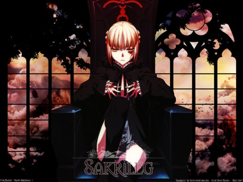 TYPE-MOON, Fate/Hollow ataraxia, Saber Alter Wallpaper