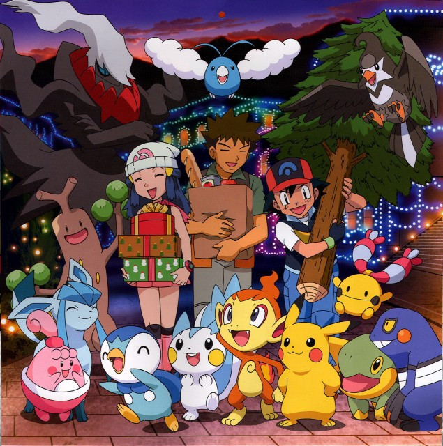 Nintendo, OLM Digital Inc, Pokémon, Chimchar, Swablu