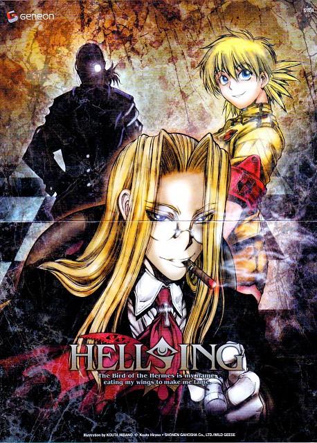 Kouta Hirano, Geneon/Pioneer, Hellsing, Integra Fairbrook Wingates Hellsing, Victoria Seras