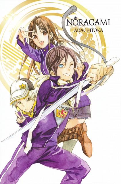 Toka Adachi, Noragami, Hiyori Iki, Yato (Noragami), Yukine (Noragami)