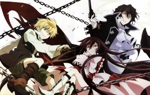 Chizuru Kobayashi (Mangaka), Pandora Hearts, Alice (Pandora Hearts), Oz Vessalius, Gilbert Nightray