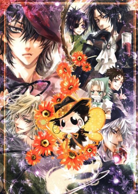 Kine in AQUA, Katekyo Hitman Reborn!, Reborn (Character), Hayato Gokudera, Mukuro Rokudo