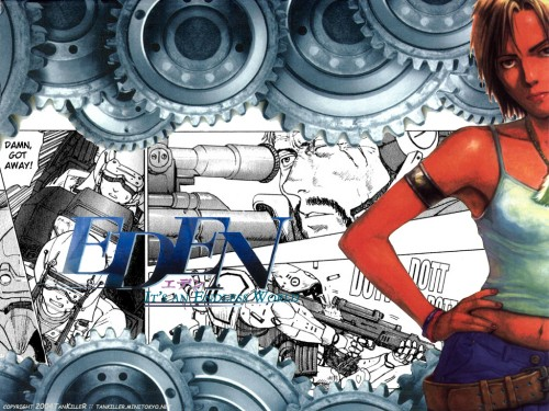 Hiroki Endo, Eden, Manga Panels Wallpaper