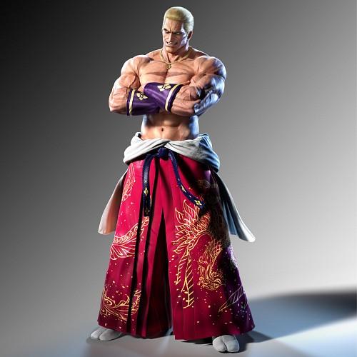 Namco, Tekken, Geese Howard, Official Digital Art