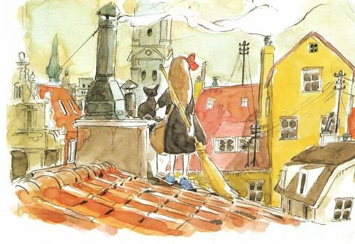 Studio Ghibli, Kiki's Delivery Service, The Art of Kiki's Delivery Service, Kiki Okino, Jiji (Kiki's Delivery Service)