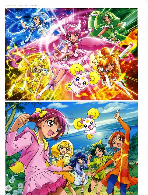 Toei Animation, Smile Precure!, Kawamura Toshie Toei Precure Works, Candy (Smile Precure!), Reika Aoki