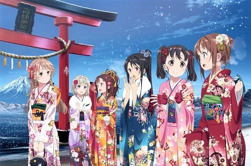 Aniplex, Production IMS, Haifuri, High School Fleet Anime Visual Book, Shima Tateishi