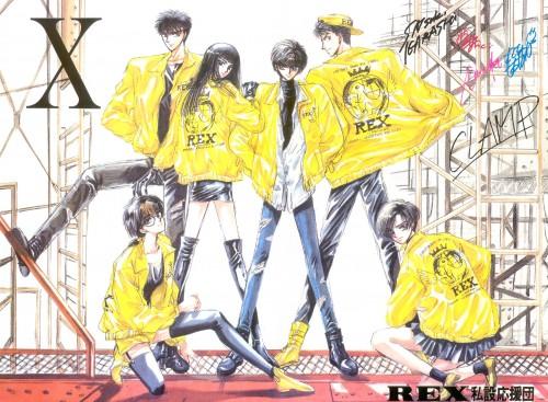 CLAMP, Madhouse, X, Yuzuriha Nekoi, Kamui Shirou